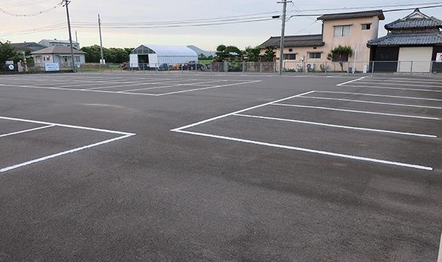 岡山市南区地内駐車場整備工事