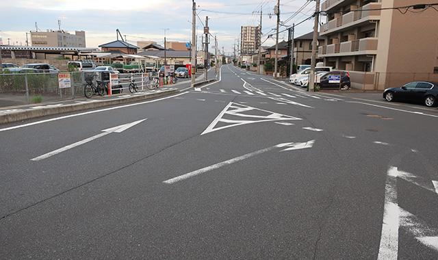 岡山市南区地内道路改良工事
