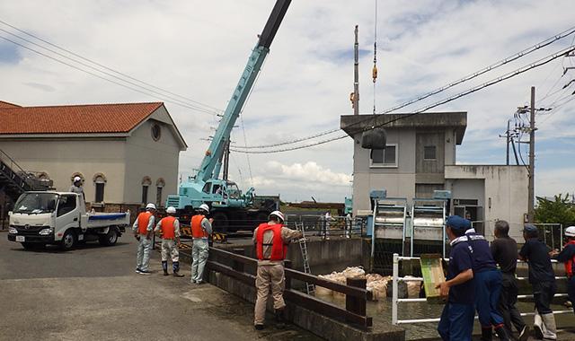 西日本豪雨災害復旧工事