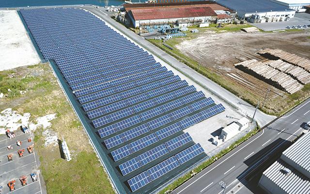 株式会社TAIKOU 太陽光発電事業 鳥取県境港