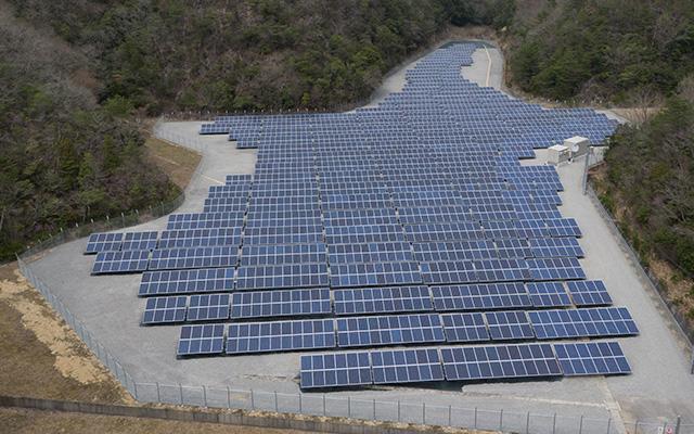 株式会社TAIKOU 太陽光発電事業 岡山県三国